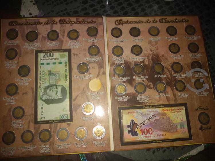 Coleccionador de billetes y monedas