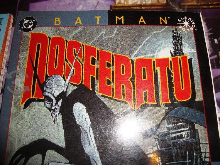 Dc comics batman nosferatu tomo unico