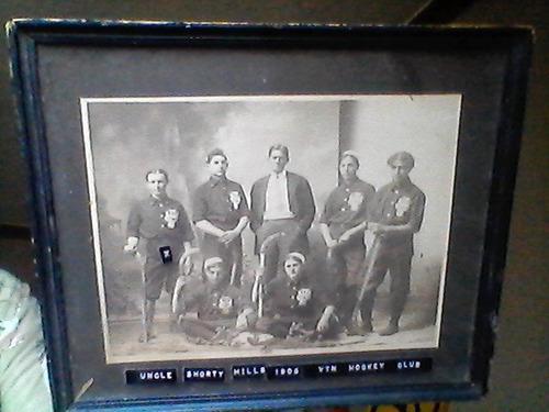 Fotografia antigua de equipo deportivo de 1905