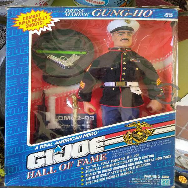 Gi joe hall of fame gung ho vestido de marino 1992