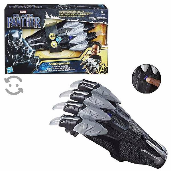Garra de poder black panther vibranium, avengers