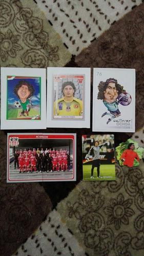 Guillermo ochoa selección nacional estampas cards