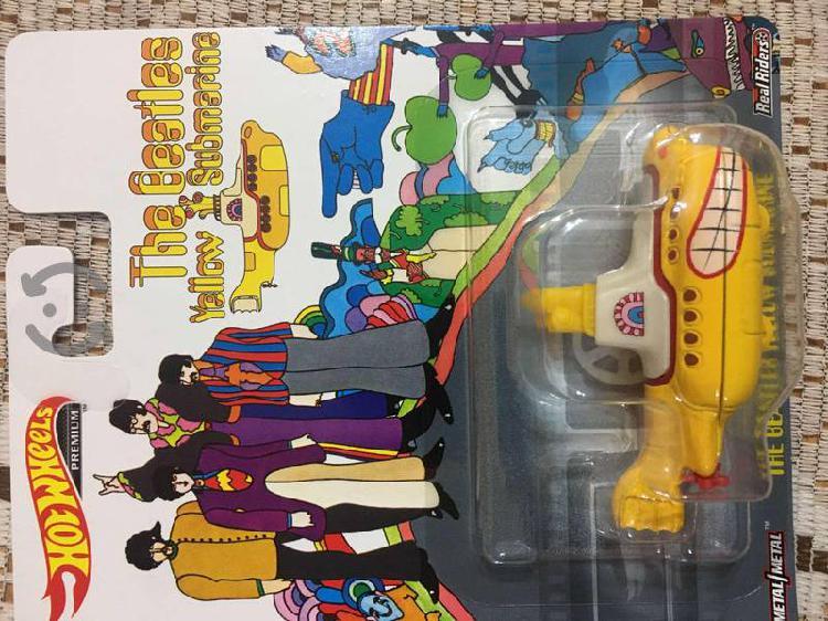 Hotwheels Pop Culture Yellow Submarine