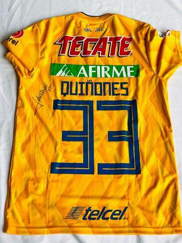 Jersey julian quiñones firmado semifinal vs rayados