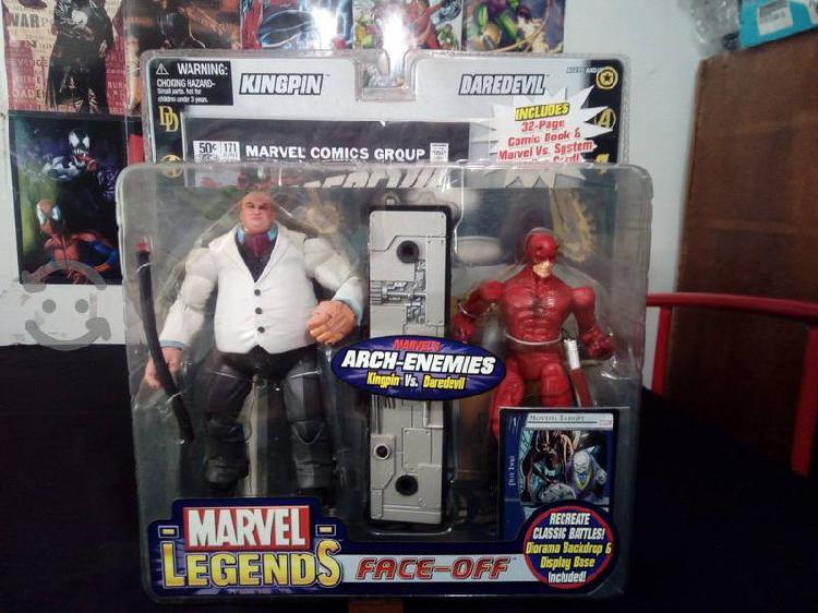 Kingpin daredevil marvel legends toy biz
