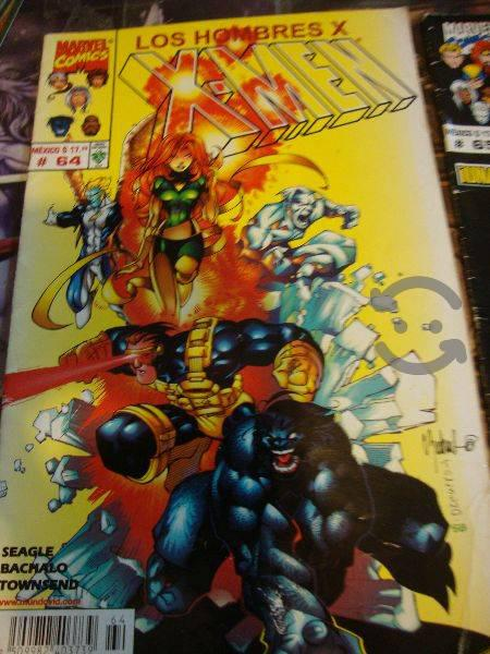 Marvel comics 90s x men el equipo original