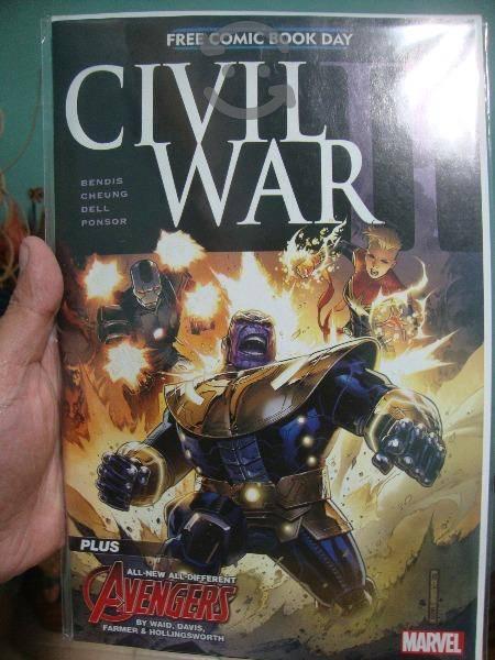 Marvel comics civil war ii no. 0 en ingles