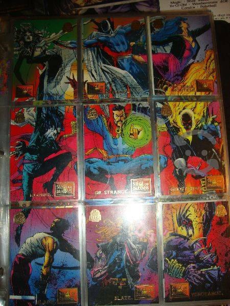 Marvel comics dr. strange coleccion 9 tarjetas