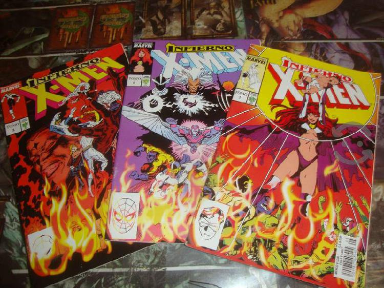 Marvel comics inferno pack 3 comics