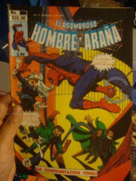 Marvel comics la guerra pulpo vs buho / spider man