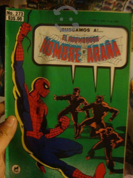 Marvel comics retro spider man novedades no. 273