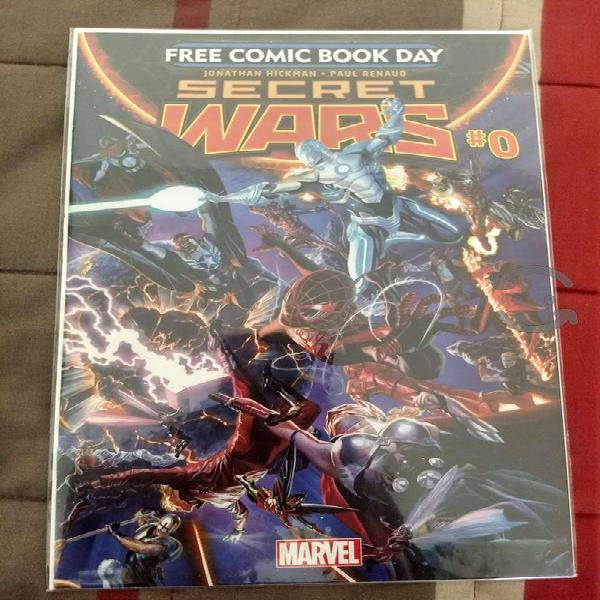 Marvel comics secret wars #0