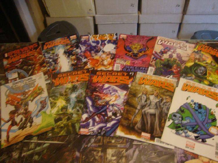 Marvel comics secret wars 2015 saga completa