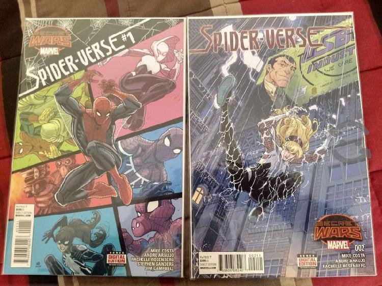Marvel comics secret wars spider-verse.