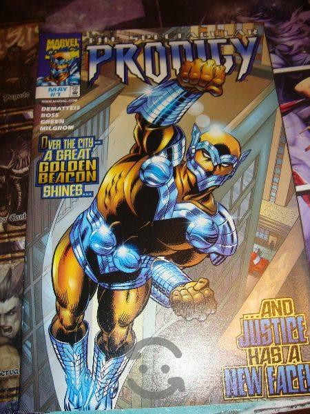 Marvel comics spider man / prodigy portada doble