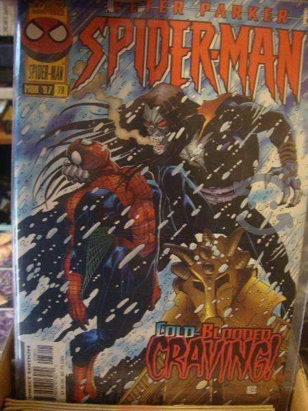 Marvel comics spiderman comics sueltos
