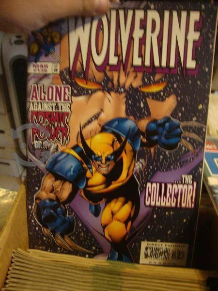 Marvel comics wolverine comics sueltos