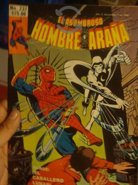 Marvel comics retro spider man vs moon knight