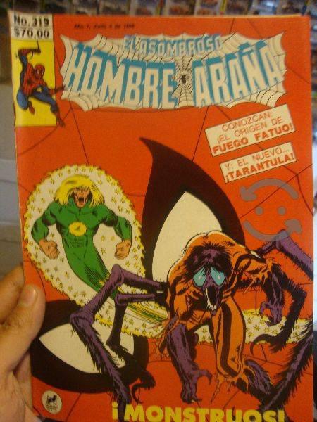 Marvel comics retro tarantula monstruo