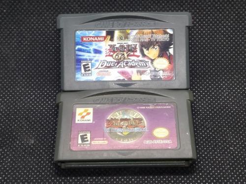 Nintendo gameboy advance yugi-ho gx pack 2 juegos