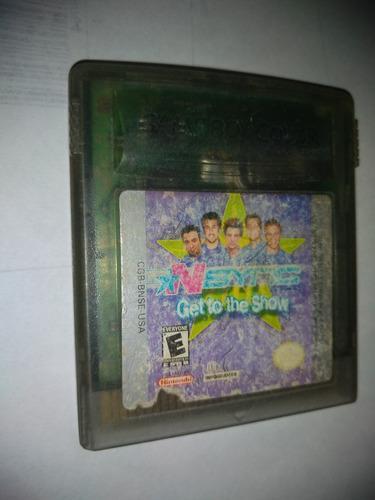 Nintendo gameboy color video juego nsync usado funcionando