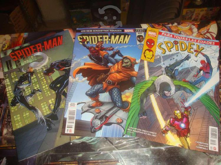 Pack 3 comics spiderman smash