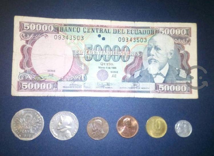 Paq monedas coleccion