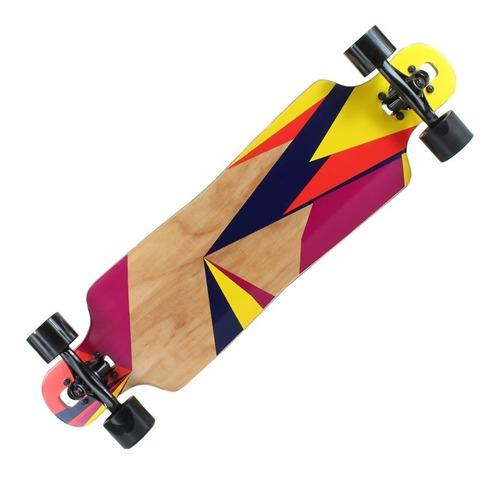 Patineta longboard blazer original maple 7 capas