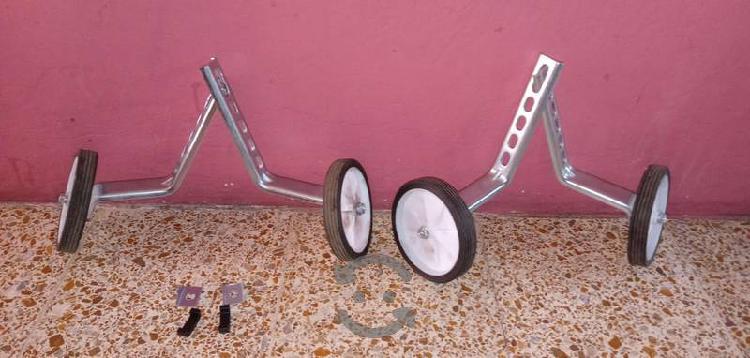 Ruedas de entrenamiento para bicicleta
