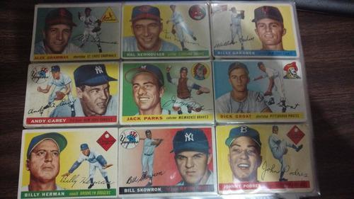 Set completo topps 1955 1-206 tarjetas garantizada 100%