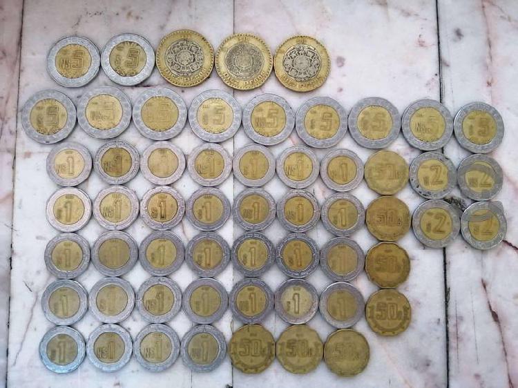 Set monedas nuevos pesos 1992-1999 coleccionables