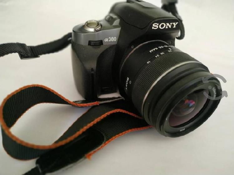 Sony alpha dslr a380 seminueva
