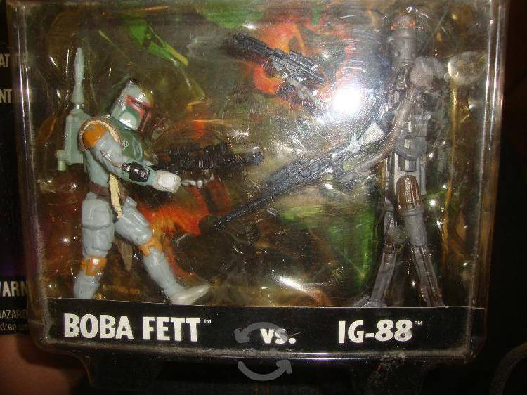 Star wars pack boba fett kenner 1996