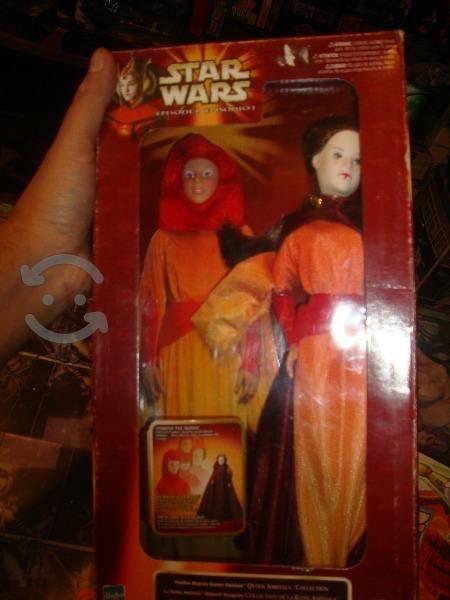 Star wars reina amidala muñeca nueva hasbro