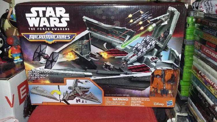 Star wars figura nave destructora micromachines