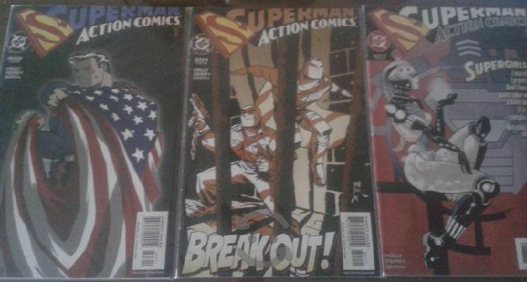 """Superman - action comics """"originales usa"""""""