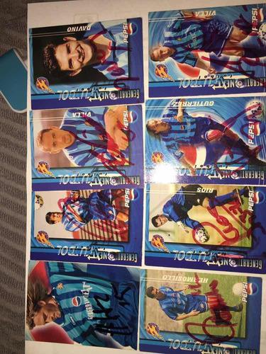 Tarjetas pepsi fútbol 1998