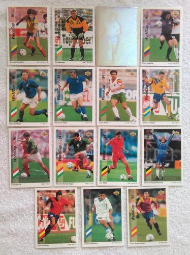 Tarjetas upper deck * mundial de futbol usa 1994 *