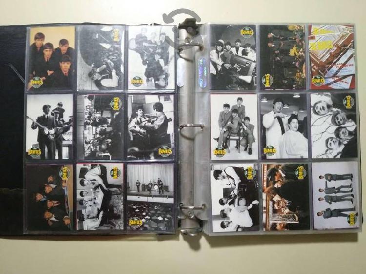 The beatles colección tarjetas