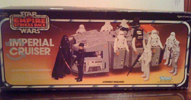 Transporte tropa imperial star wars 1980 vintage