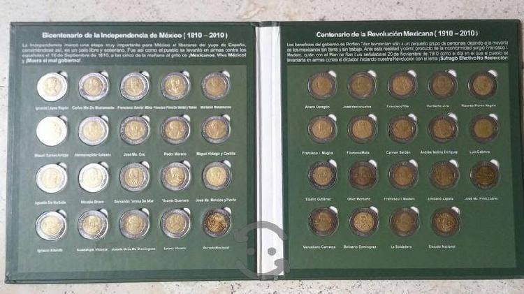 Colección de monedas antiguas, sin coleccionador