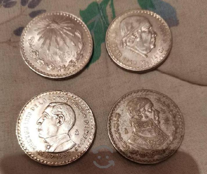 Lote monedas de un peso