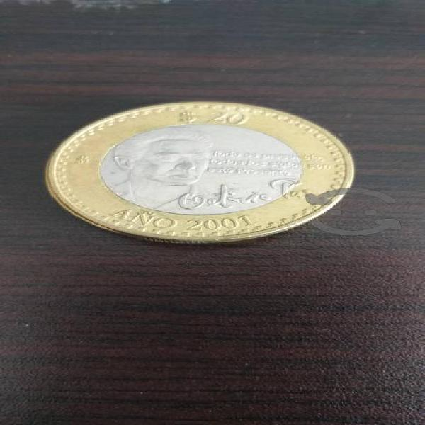 Moneda de 20 y 10