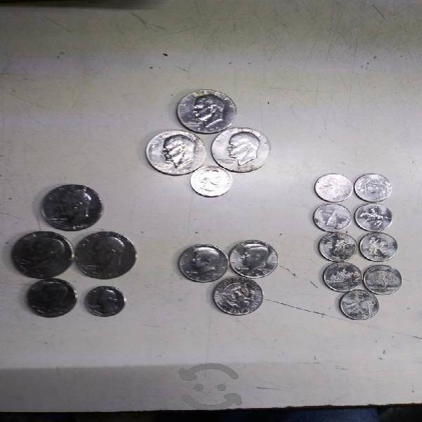 Monedas americanas lote