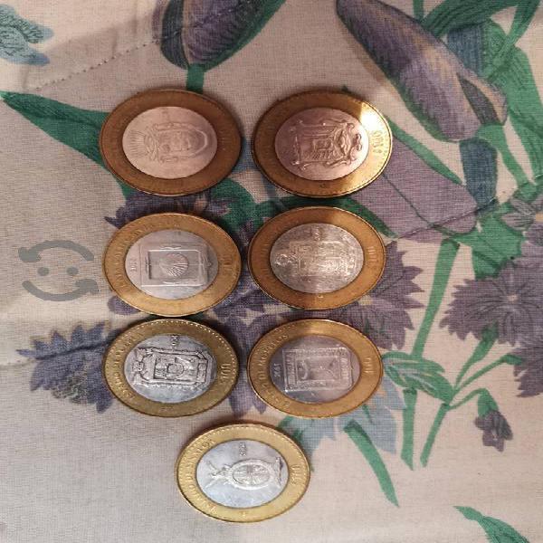 Monedas de los diferentes estados de la republica