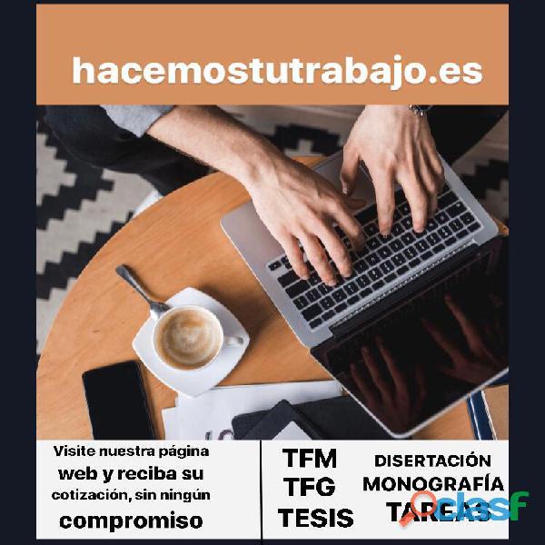 Trabajos univesritarios y ayuda profesional