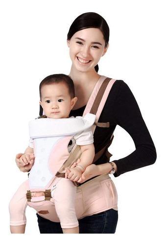 4 en 1 cangurera mochila ergonómica porta bebé