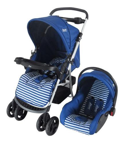 Carriola d'bebé stripes mango reversible portabebe