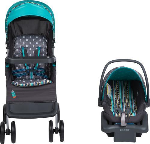 Carriola para bebé y porta bebé babideal plegable uso xtr