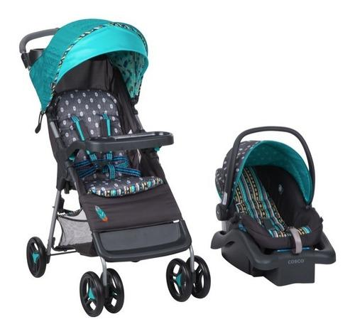 Carriola + porta bebé babideal plegable uso fácil xtrm c